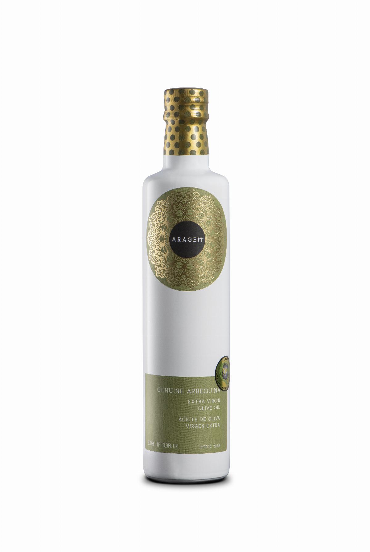 Oli d'Oliva Verge Extra Aragem, Dòrica ampolla 500 ml