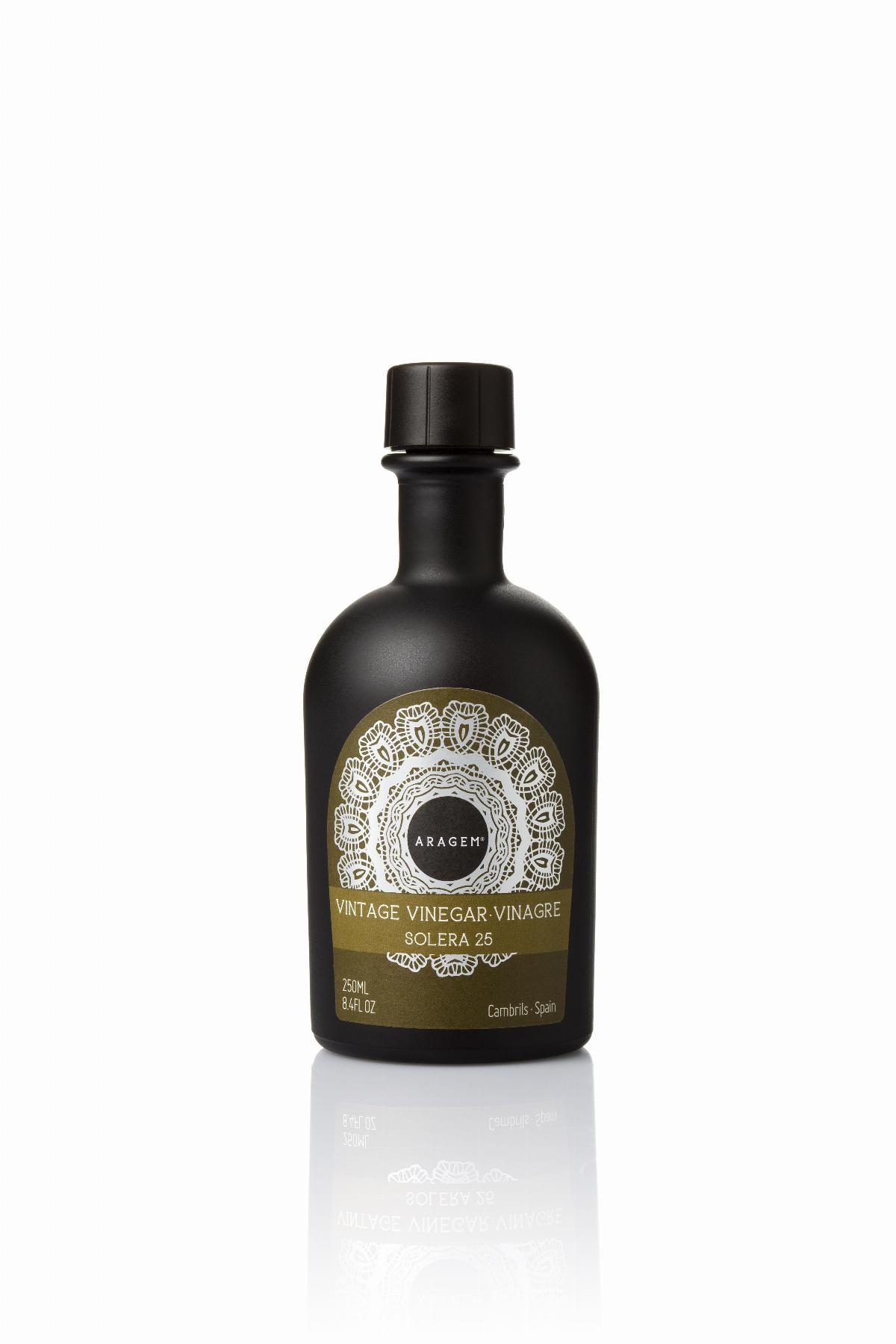 Vinagre de Solera Aragem ampolla negra 250ml