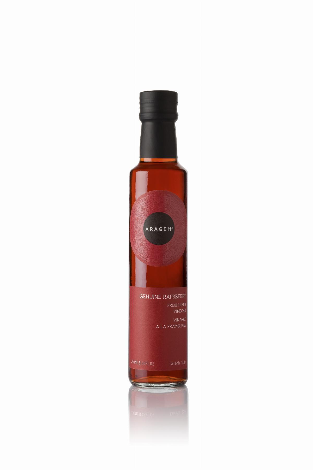 Vinagre de Gerds Aragem, ampolla Dòrica transp.  250ml. ES