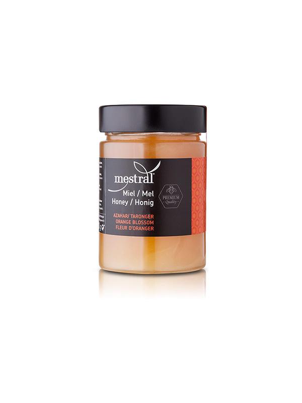 Miel - Miel de Azahar (flor de naranjo) Tarro de vidrio 500g - Mestral Cambrils