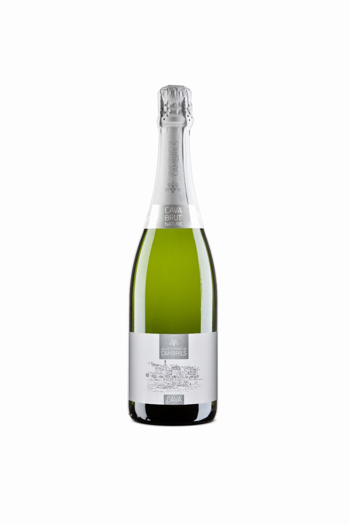 Cava - Sparkling wine - Cava Celler Cooperatiu Cambrils Brut-Nature, 750ml, CAT - Mestral Cambrils