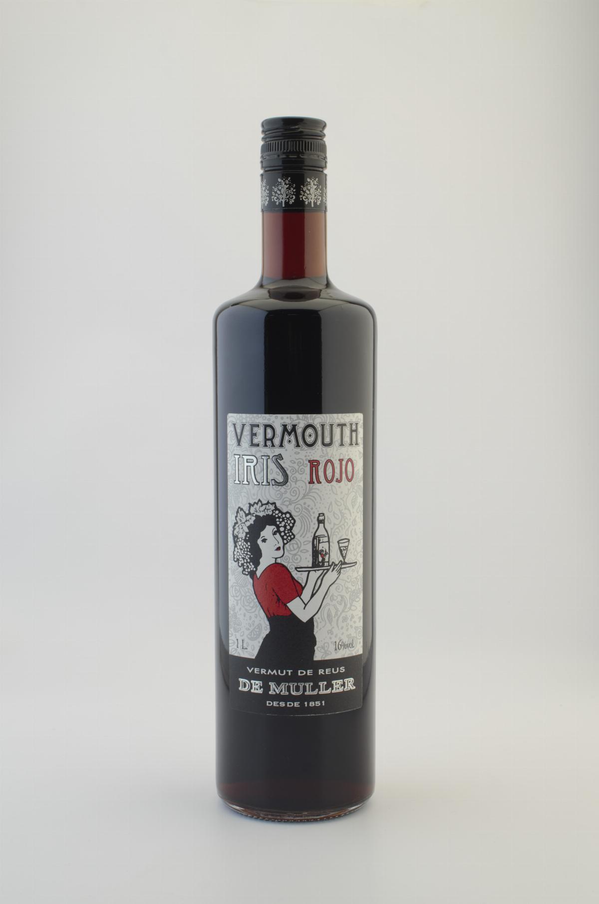 Vermut - Vermut Negre Iris Muller 1 Lt - Mestral Cambrils