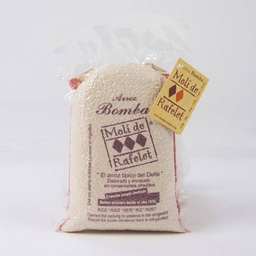 Arròs de Delta - Arròs Moli del Rafelet varietat Bomba 1kg saquet al buit - Mestral Cambrils