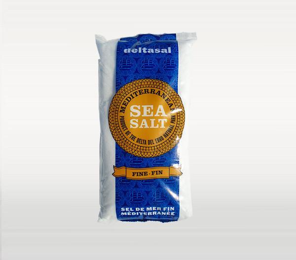 Sea Salt - Mediterranean Sea Salt Deltasal Infosa 1 kg - Mestral Cambrils