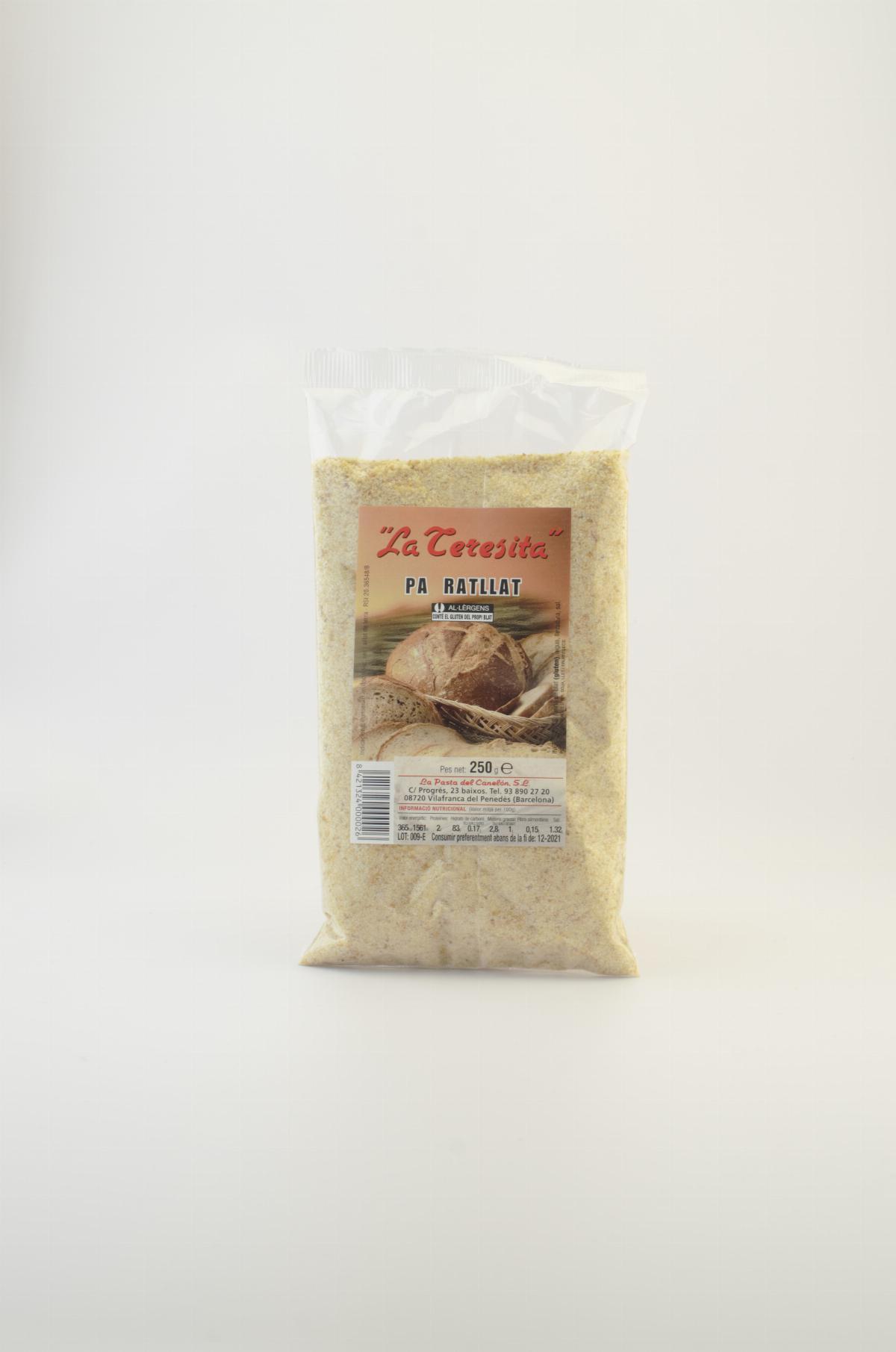 Pa Ratllat La Teresita 250 grams