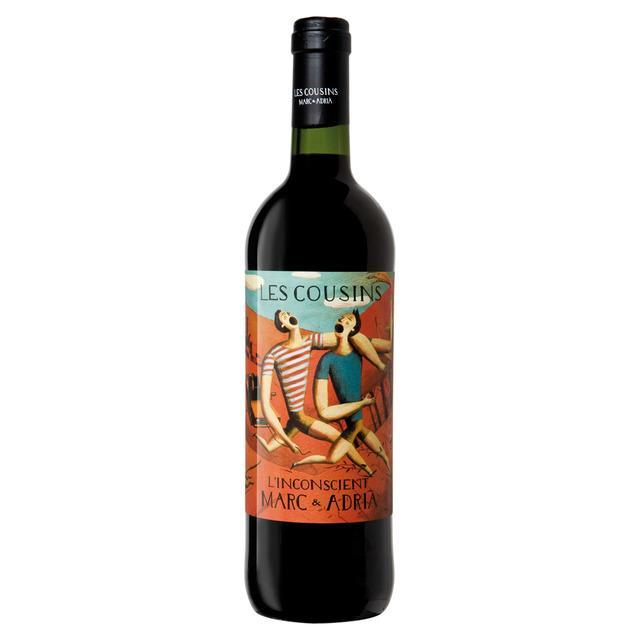 Vinos - Vi Negre L´Inconscient Les Cousins 750 ml - Mestral Cambrils