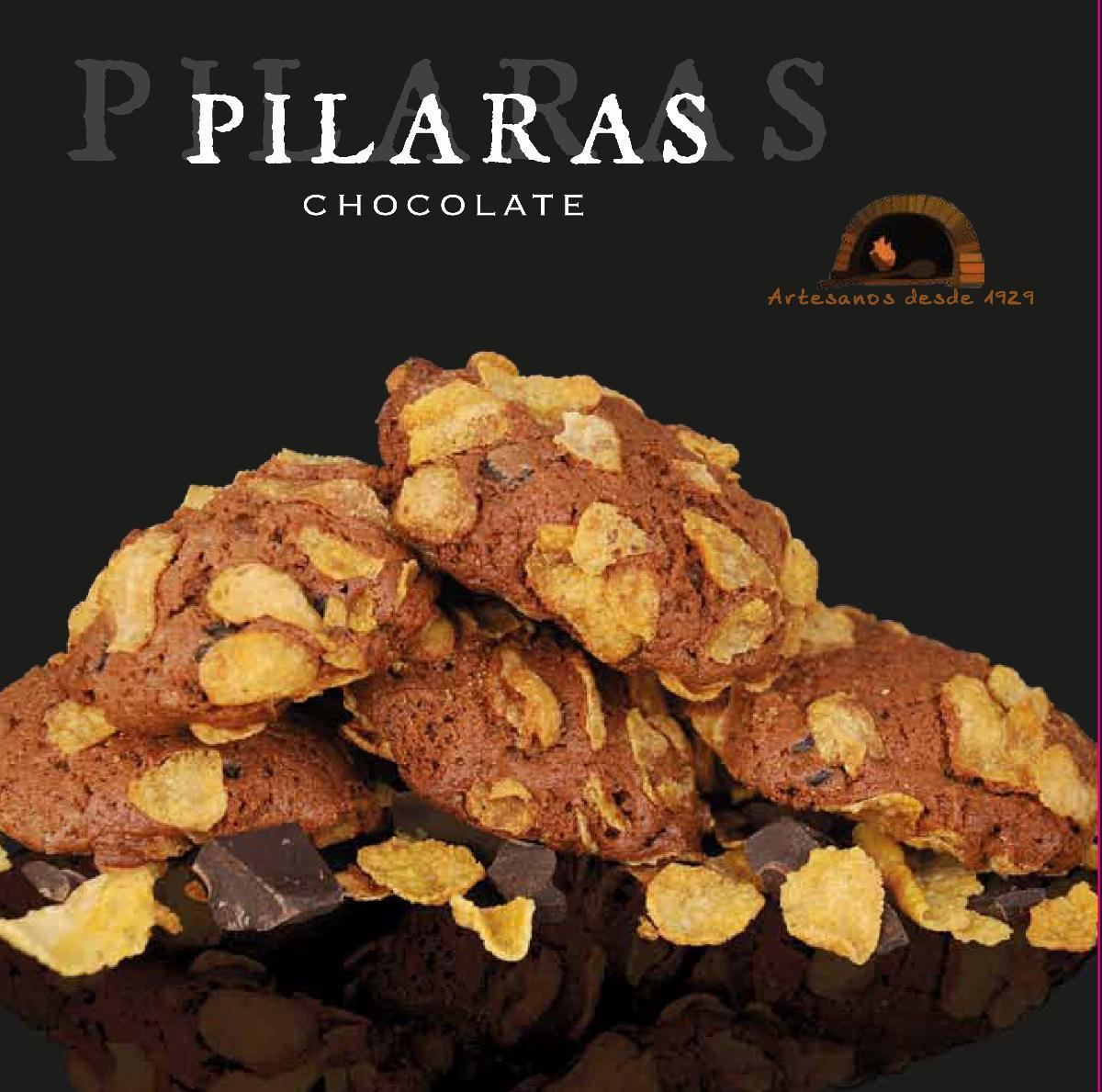 Sweets & Nougat - Butter Cookies of chocolate Pilaras Sesplugues 250g - Mestral Cambrils