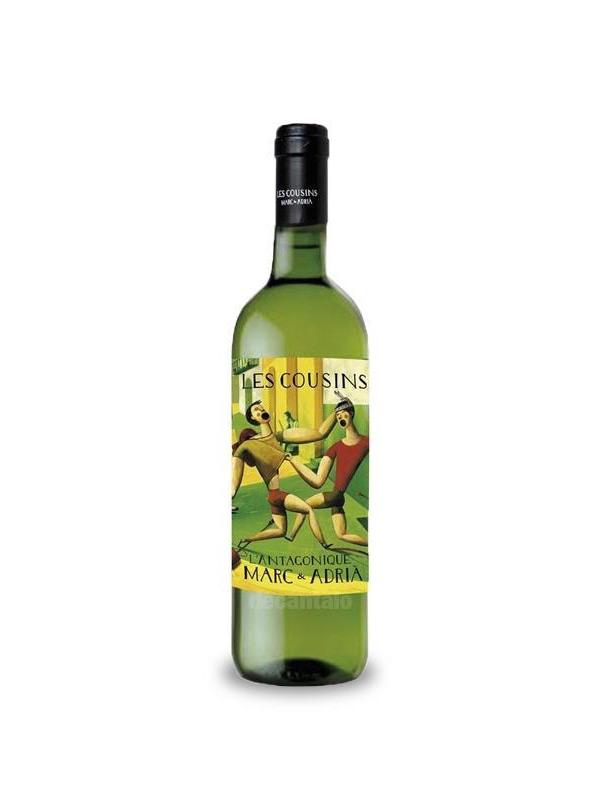 Les vins - Vi Blanc Les Cousins  L´Antagonique 75 cl. - Mestral Cambrils