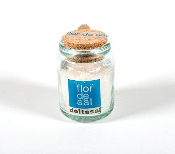 Sal del Delta - Sal Deltasal Flor de sal Pot vidre 150 grs. - Mestral Cambrils