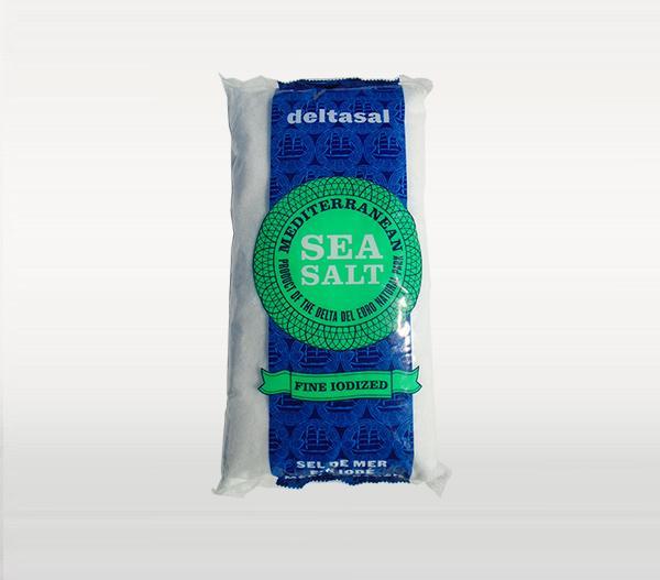 Sal del Delta - Sal de Mar fina yodada Deltasal Infosa 1 kg - Mestral Cambrils