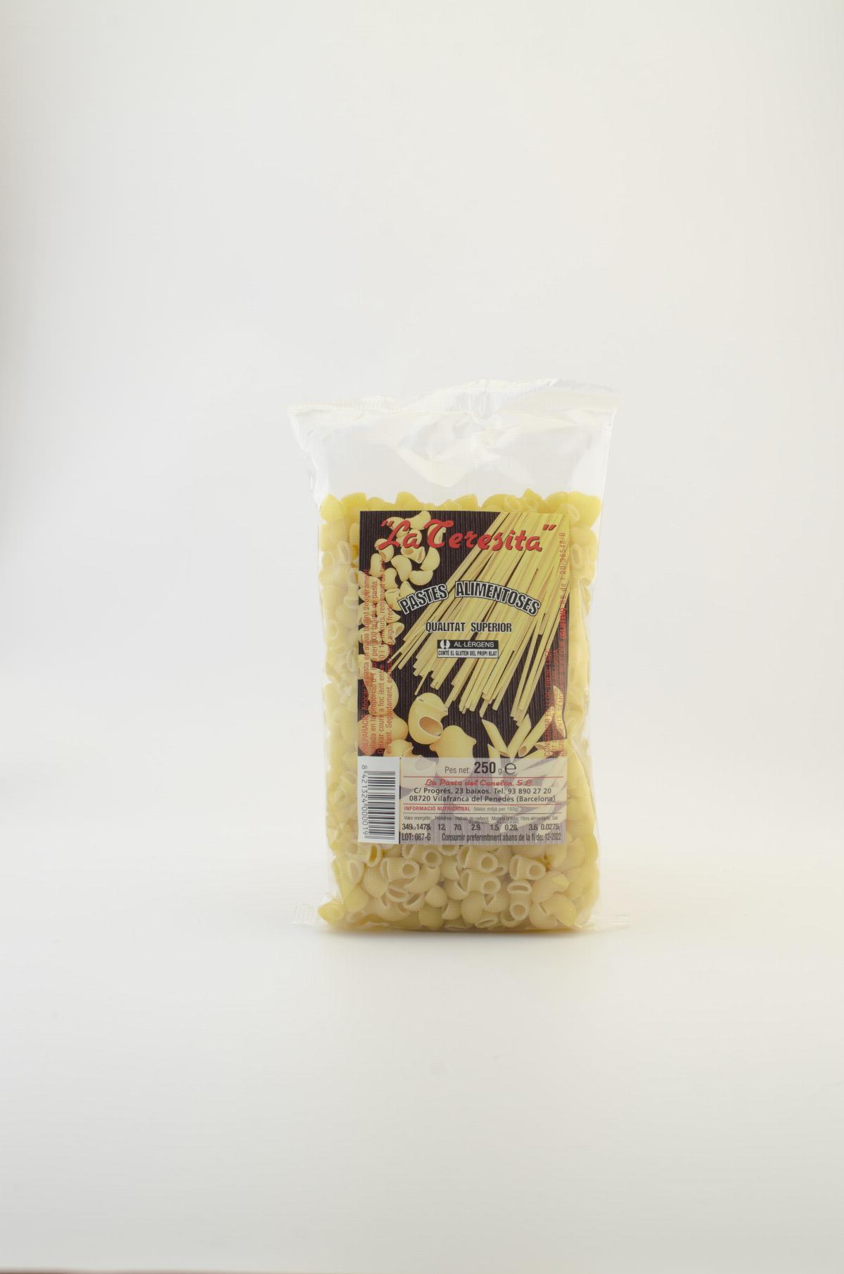 Pasta tradicional sopa colzes (galets petits) La Teresita 250g