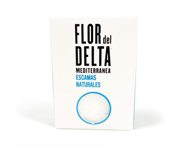 Sal del Delta - Sal de Escamas Naturals DeltaSal Caixa 125 g - Mestral Cambrils
