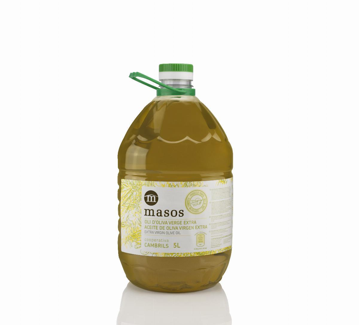 Masos Extra Virgin Olive Oil PET 5 liters
