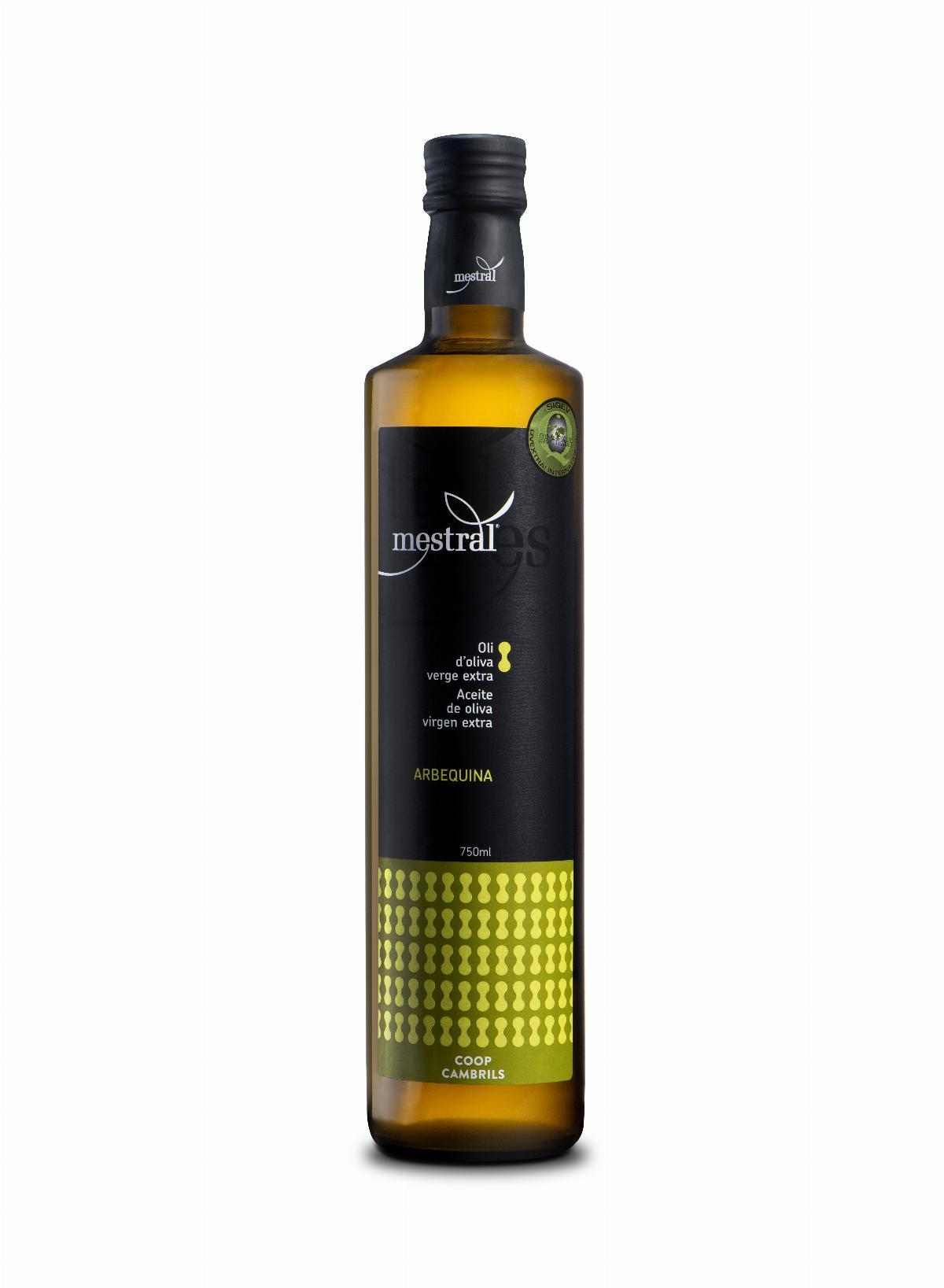 Mestral Extra Virgin Olive Oil Dorica dark glass bot. 750 ml