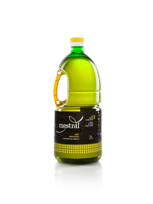 Mestral Extra Virgin Olive Oil PET 2 L HORECA