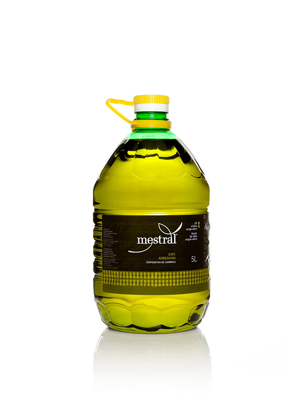 Mestral Extra Virgin Olive Oil PET 5 L HORECA