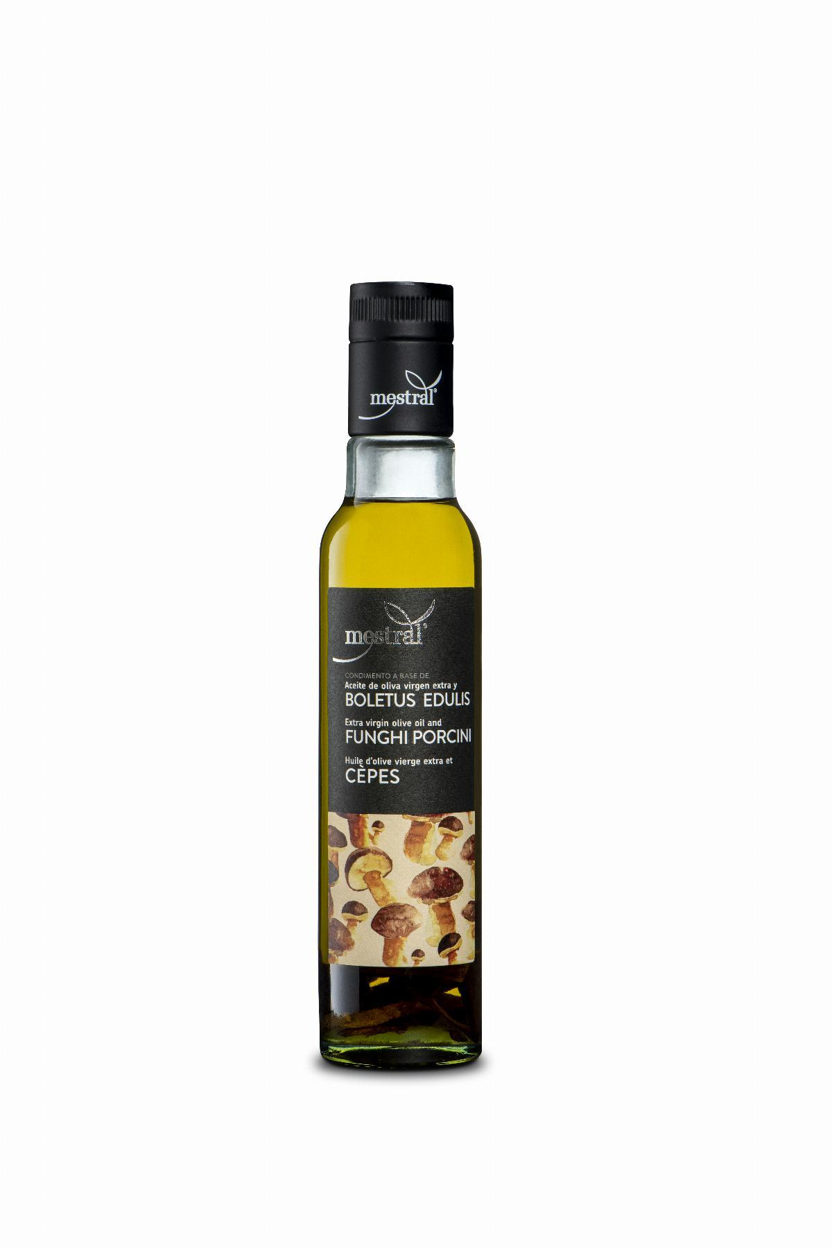 Mestral Extra Virgin Olive Oil with ceps bot 250 ml