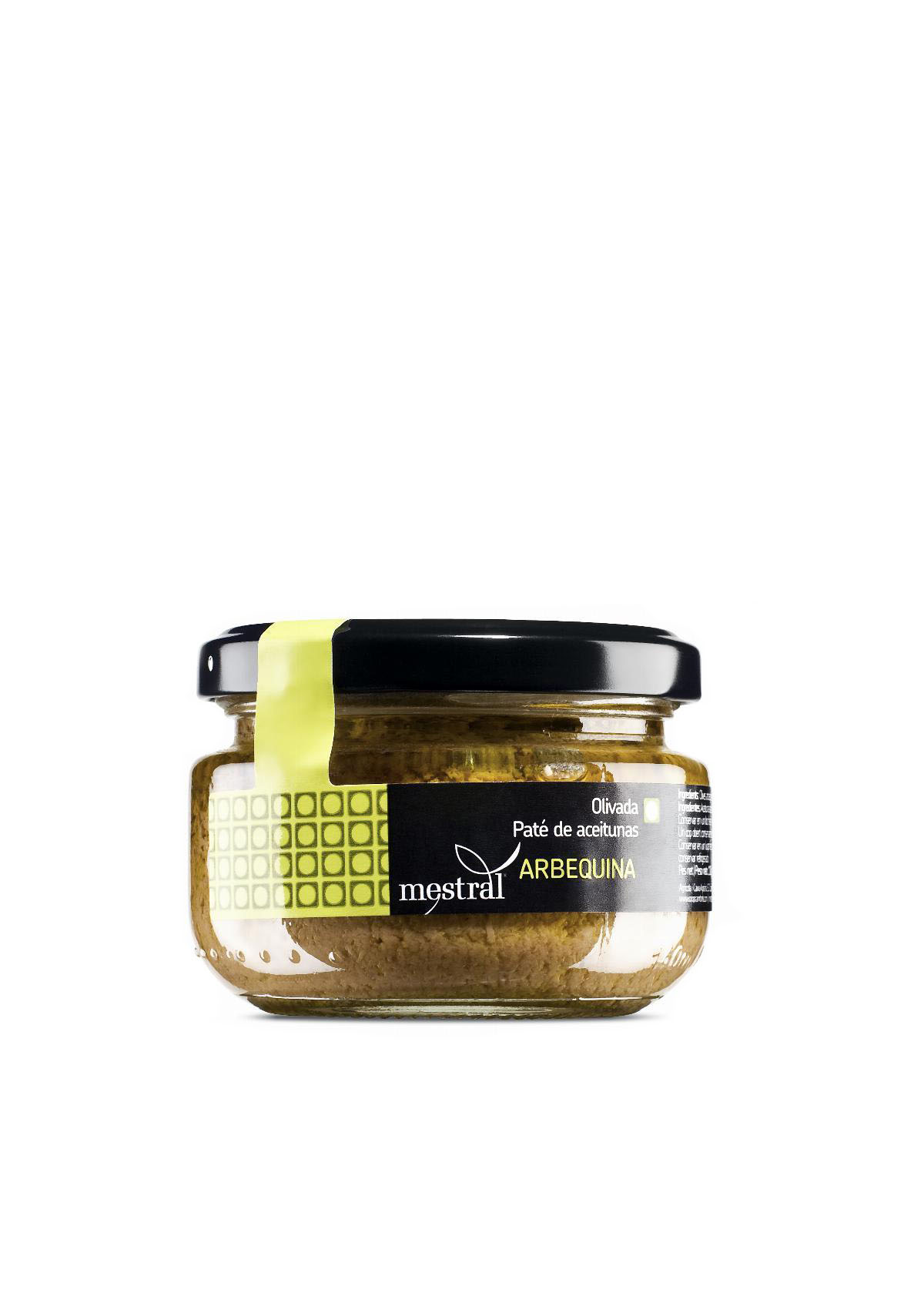 Olive Paste - Mestral Arbequina Olive Paste glass jar 110 g - Mestral Cambrils