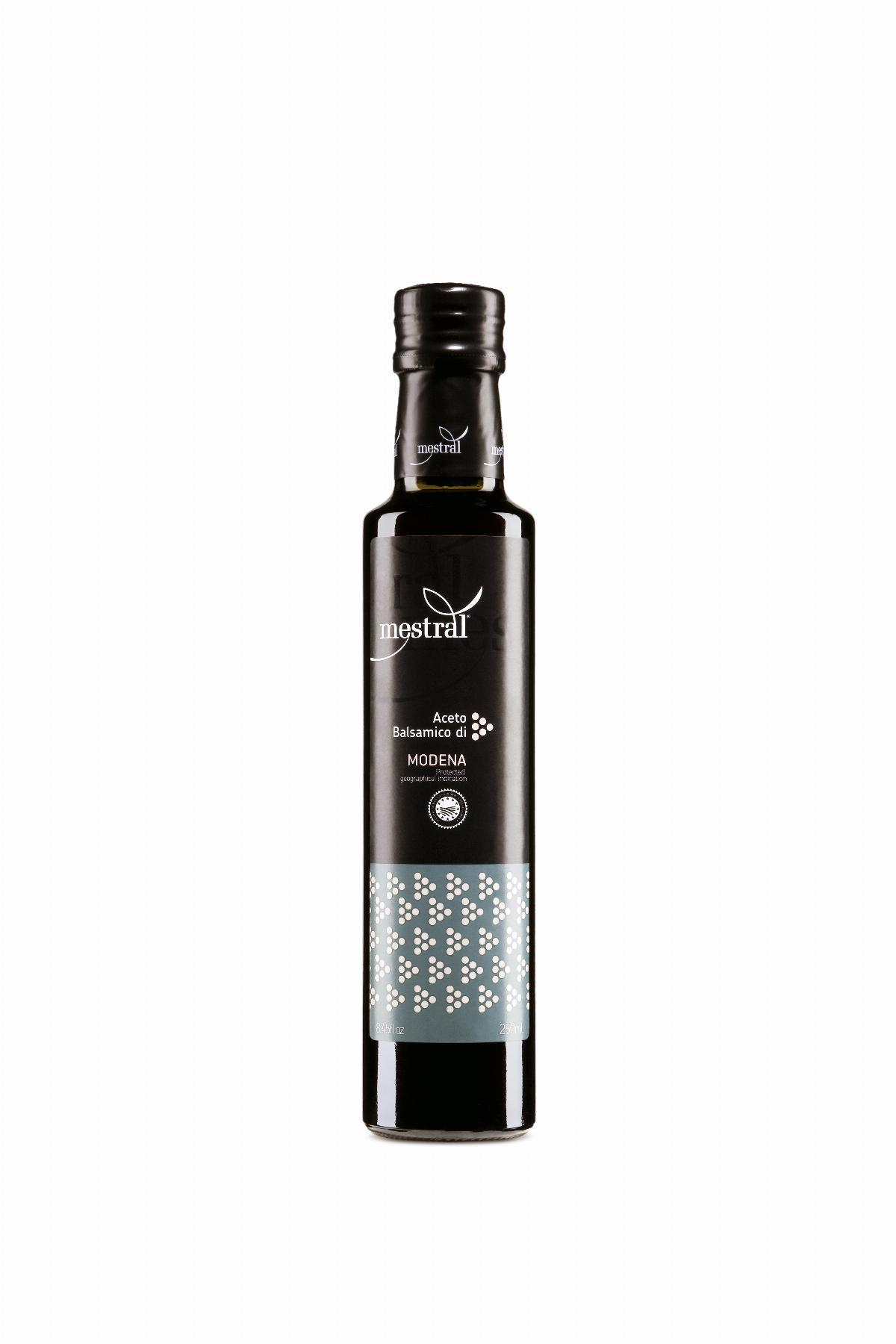 Vinegar - Mestral Balsamic Vinegar of Modena IGP bot. 250 ml - Mestral Cambrils