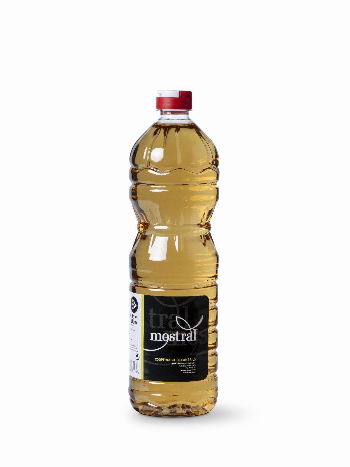 Vinagres - Vinagre Blanc Mestral 1 Litre - Mestral Cambrils