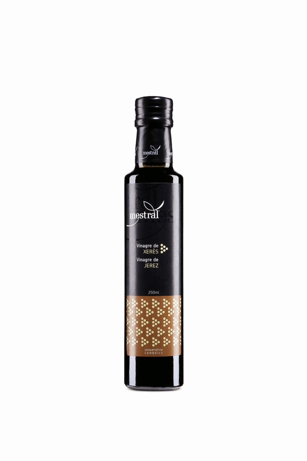 Vinegar - Mestral Sherry Vinegar PDO bot. 250 ml - Mestral Cambrils