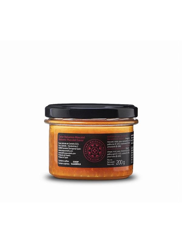 Esferificacions de Vinagre Balsàmic de Moscatell Mestral 200g