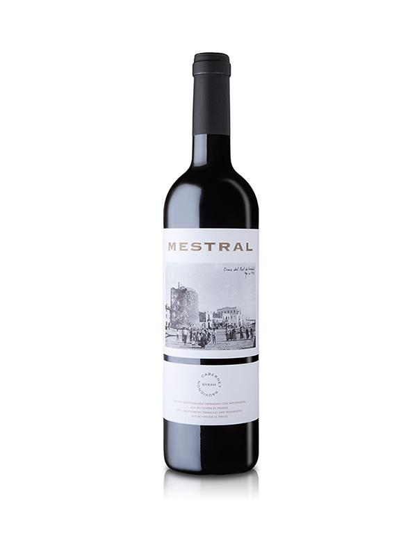 Vino tinto Mestral Cabernet Sauvignon Syraz 750ml