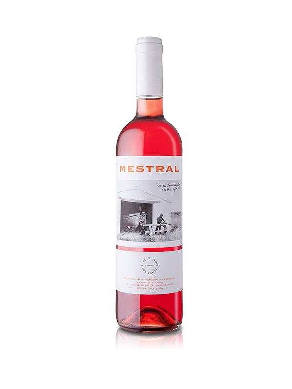 Vino rosado Mestral Pinot Noir 750ml