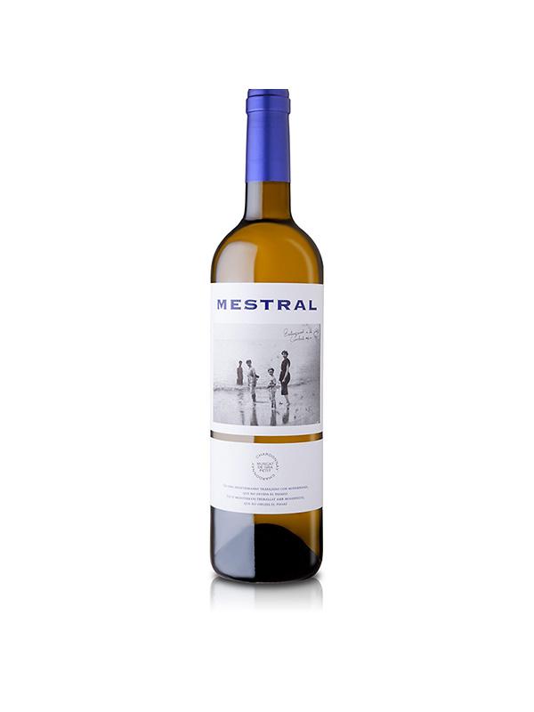 Vino blanco Mestral Chardonnay Muscat 750ml
