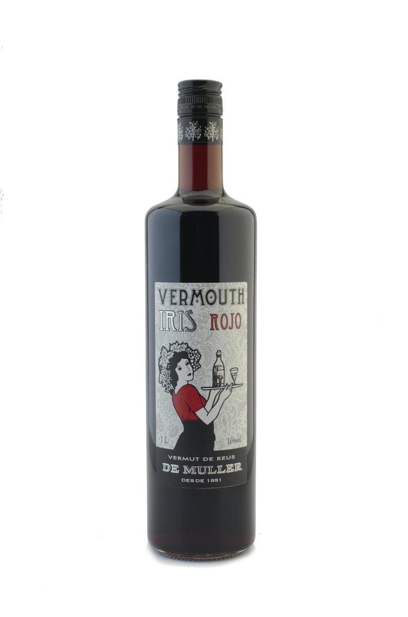 Vermouth - Vermut Negre Iris Muller 1 Lt - Mestral Cambrils