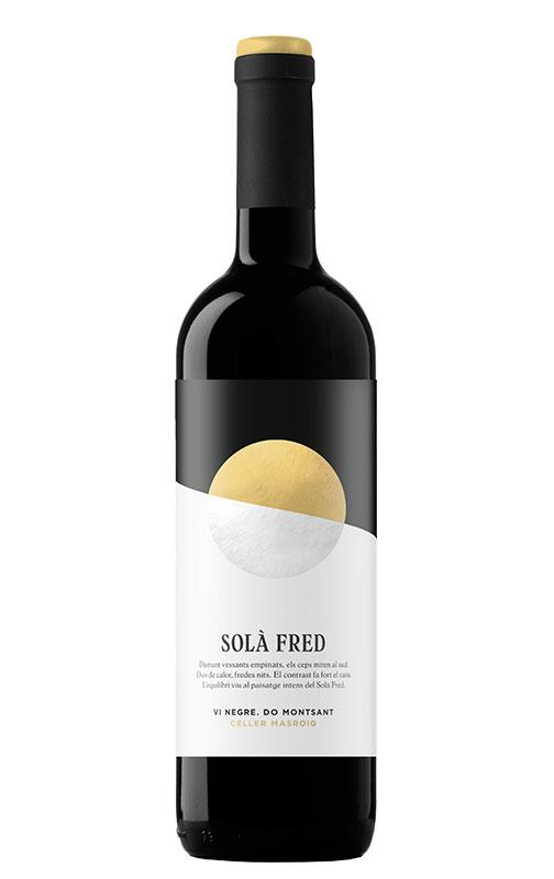 Wines - Sola Fred Red Wine by Celler Masroig DO Montsant - Mestral Cambrils