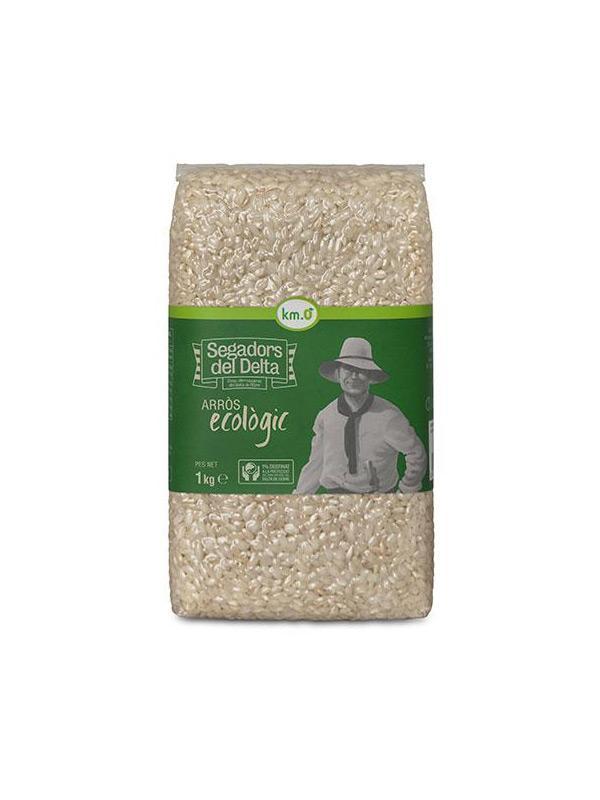 Delta rice - Organic Round Rice Segadors del Delta vacuum 1kg - Mestral Cambrils