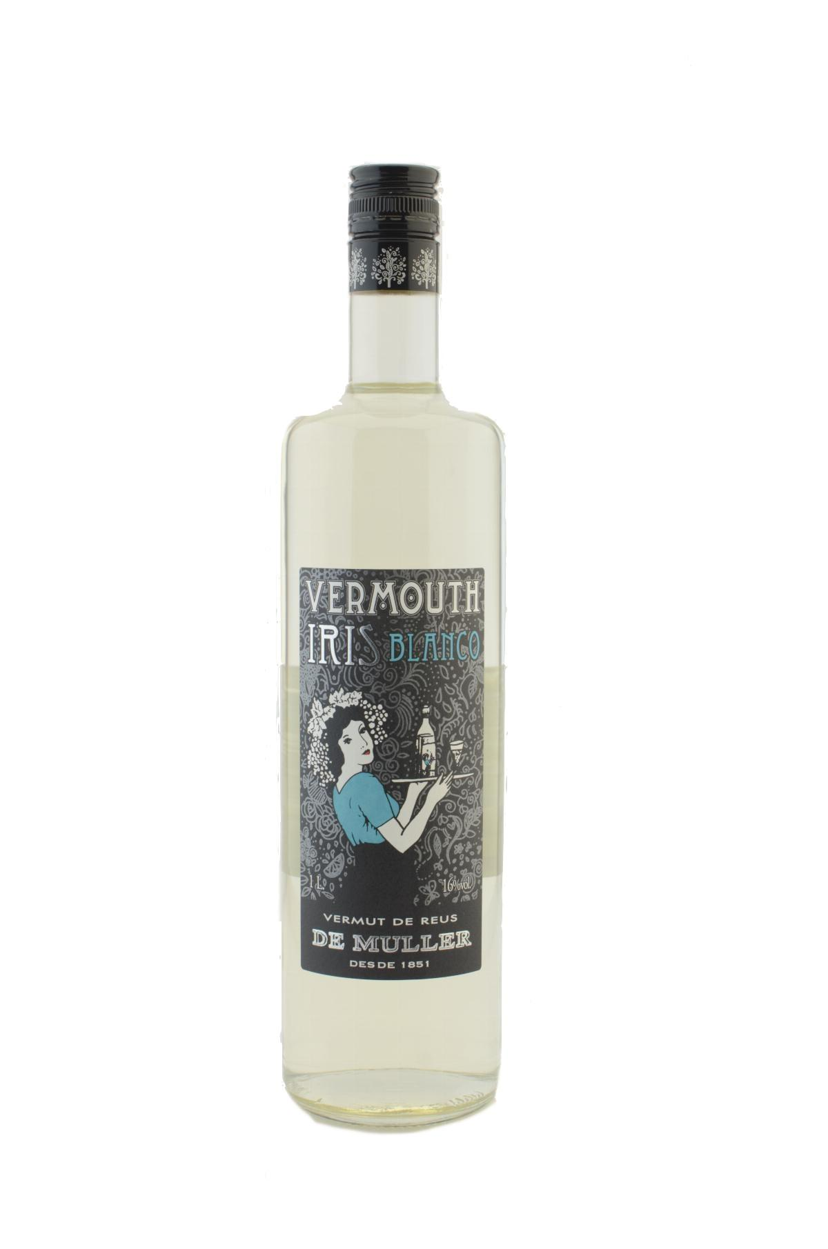 Vermouth - Vermut Blanc Iris Muller 1 Lt - Mestral Cambrils