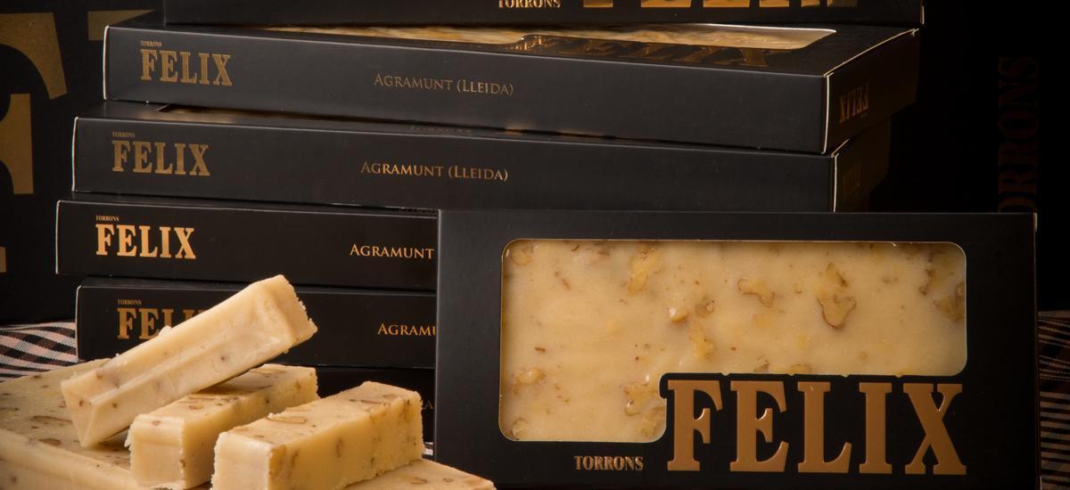 Sweets & Nougat - TORRÓ D'AGRAMUNT ARTESÀ FELIX NATA NOUS 300G - Mestral Cambrils