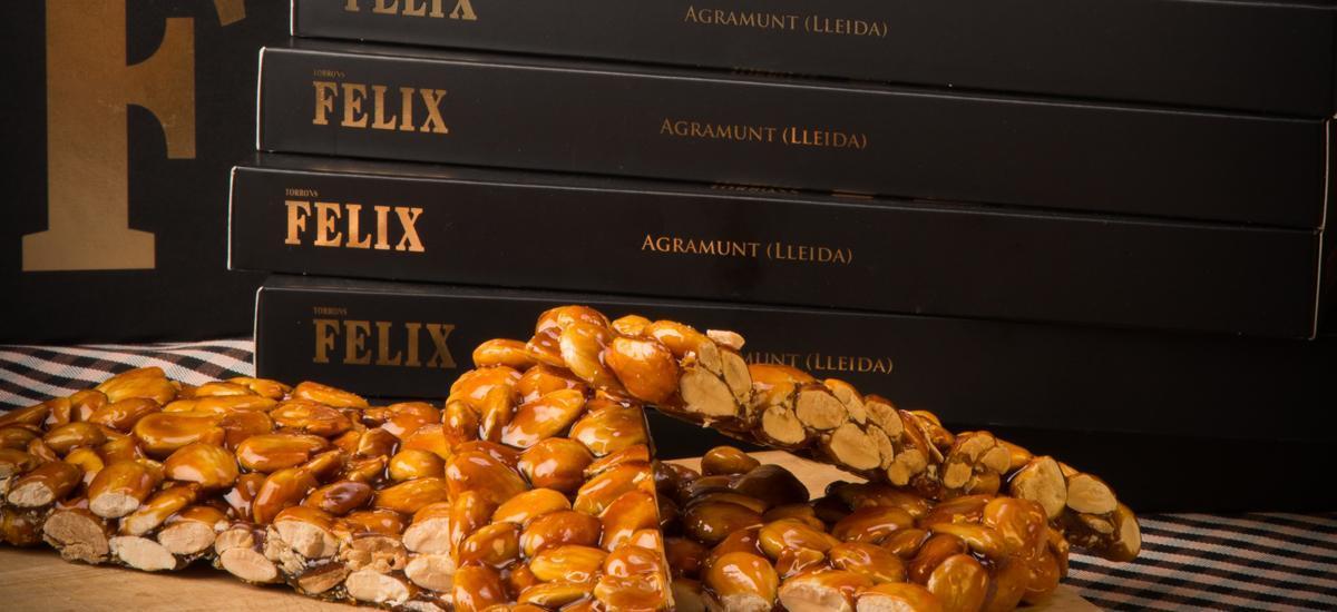 Sweets & Nougat - TORRÓ DE GUIRLATXE AMETLLA FELIX D'AGRAMUNT 500G - Mestral Cambrils