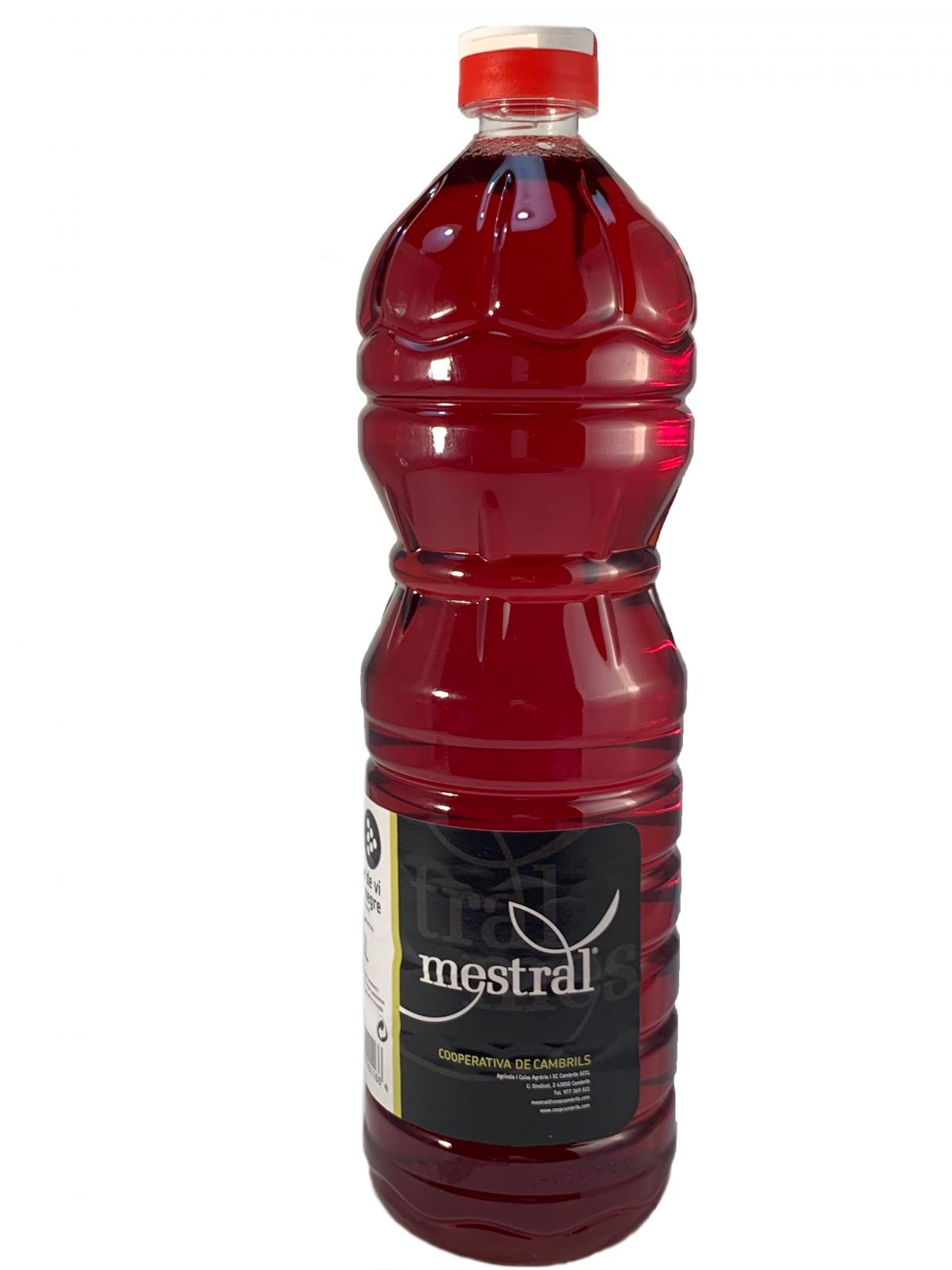 Vinagres - Vinagre Negre Mestral 1 Litre - Mestral Cambrils